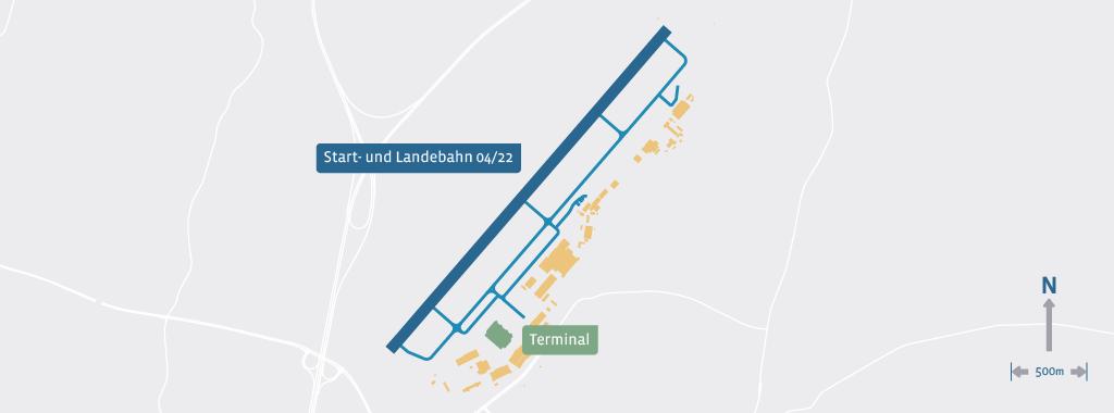 flughafen dresden karte Dresden